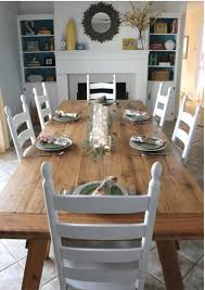 Light Wood Dining Room Furniture Building A Sawhorse Light Washed Effect Tabletop Wall Mounted