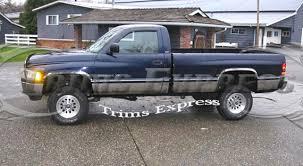 2001 dodge ram bed 1994 1997 dodge ram regular cab bed rocker panel trim 5 75