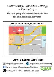 Occ Map Welcome Dinner 2015 Otago Campus Christians We Love The Lord
