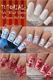 nail art halloween tutorial images nail art designs