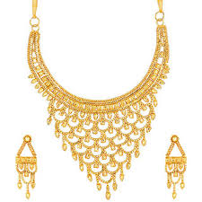 new necklace set gold images Buy styylo fashion exclusive golden necklace set online get 69 off jpg