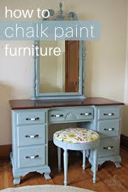 how to chalk paint furniture chalk paint tutorial chalk paint