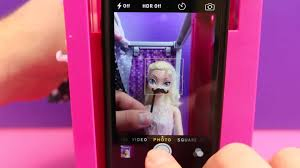 Barbie Photo Booth Barbie Photo Booth Frozen Elsa U0026 Prince Felix Try Out New Toy With