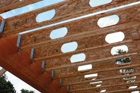 roof trusses floor trusses engineered wood products and lumber