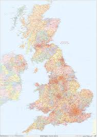 Counties Of England Map by Uk Postcode District Map Gif Or Pdf Download U2013 Map Logic