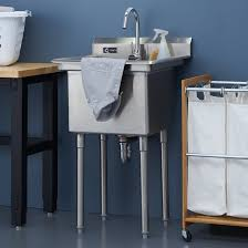 Utility Sinks For Laundry Rooms by Trinity Stainless Steel Utility Sink Add This To Your Laundry
