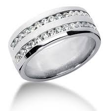 mens double rings images Double row men 39 s diamond rings wedding bands and rings for men jpg