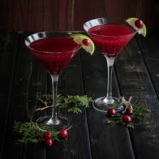 peppermint martini recipe christmas cranberry cosmopolitan sweetphi