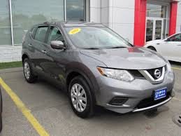 Nissan Rogue Grey - 2015 nissan rogue sv in midnight jade for sale in boston ma