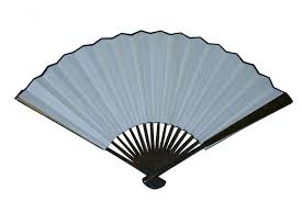 bamboo fan 26cm laquered speckled brown bamboo fan wills quills