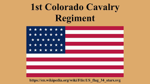 Cavalry Flag 1st Colorado Cavalry Regiment Youtube
