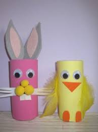 Easter Decorations Construction Paper by Easter Craft For Kids Toilet Paper Roll Easter Bunny
