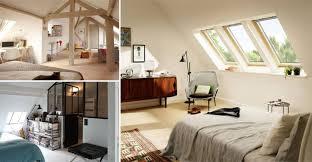 une chambre 14 idées déco pour aménager une chambre sous les toits des idées