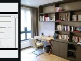 bureau bibliothèque intégré bibliotheque avec bureau integre stunning bibliothaque avec bureau