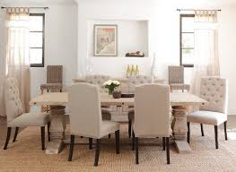 elegant dining room furniture with cream dining chairs home dining