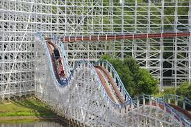 Six Flags Roller Coasters List Historic Wooden Roller Coaster To Flip Backward At Six Flags Over