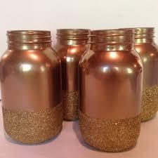 glittered bottom mason jar u2013 alwaystheoccasion