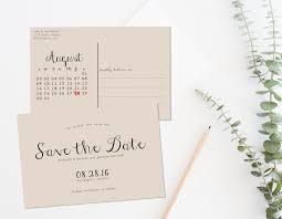 rustic save the date printable save the date postcard save the