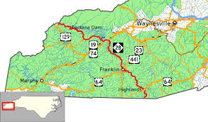 Caves In Tennessee Map by North Carolina Highway 28 Wikipedia