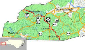 Franklin Maps North Carolina Highway 28 Wikipedia