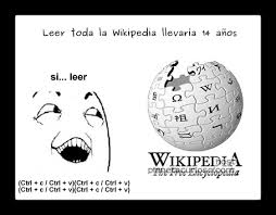 Memes Wikipedia - s祗 claro