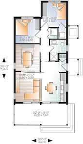 Iseman Homes Floor Plans W1907 Modern Rustic 700 Sq Ft Tiny Small House Plan Very