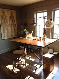 Antique Drafting Tables Antique Drafting Table In Industrial Other Metro With Singer