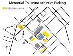 University Of Michigan Parking Map by University Of Kentucky Official Athletic Site