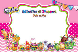 birthday invitation template updated free printable shopkins birthday invitation template