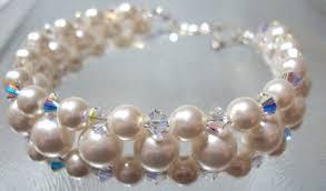pearl bracelet designs images Pearl bracelets debs designs hand crafted earrings pendants JPG