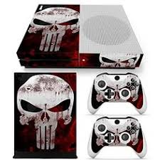 xbox one console with kinect amazon in video games xbox 360 slim console skin decal sticker punisher 2 controller