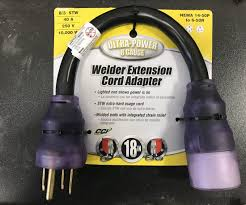 power cable adapter for 4 3 pin 230 volt plug br welding