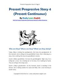 49 best present progressive images on pinterest teaching english