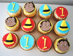 curious george cupcakes images tagged birthday cupcakes miss cupcakes