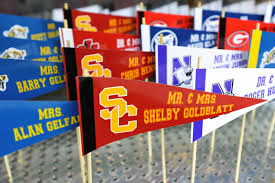 Football Centerpieces Football Theme Bar Mitzvah Ideas Jew It Up