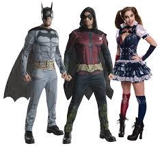 arkham city robin halloween costume arkham city batman adults fancy dress dc comic book ladies womens