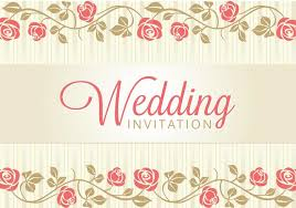 wedding card invitation wedding card invitation free vector stock graphics