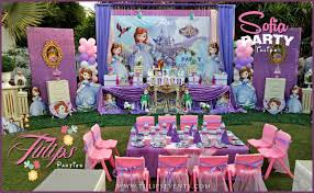 sofia the birthday party top 20 best party themes decor ideas in pakistan