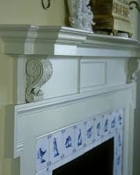Fireplace Tile Design Ideas by 60 Best Delft Fireplace Images On Pinterest Blue And White