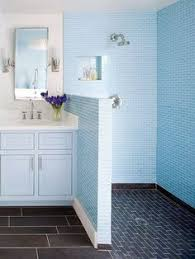 Designer Showers Bathrooms Great Window Marble Tile Even On The Ceiling Niches For