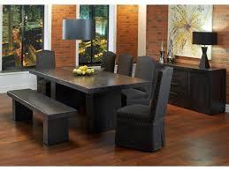 Custom Dining Room Furniture Canadel Loft Custom Dining Customizable Rectangular Table Set