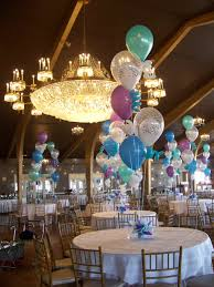 balloon centerpieces using 5 16 balloons with curly qs