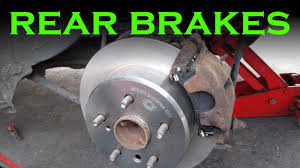 toyota avalon brakes toyota rear brake pad and rotor change