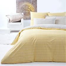 smon 100 cotton duvet cover la redoute interieurs la redoute intended for new home yellow duvet cover remodel