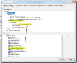 Sql Change Table Name How Do I Point Reports At A New Database Stack Overflow
