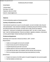 bookkeeper resume exles sle bookkeeper resume musiccityspiritsandcocktail