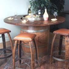 wine barrel bar table u2013 hism co