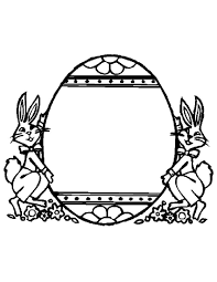 easter egg coloring pages coloringsuite com