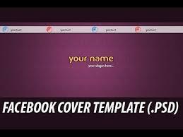 cover photo template facebook facebook cover photo template psd free facebook timeline cover