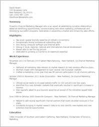Marketing Resume Marketing Resume Templates To Impress Any Employer Livecareer